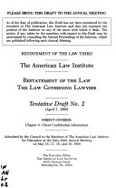 Restatement of the law