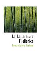 La Letteratura Filellenica
