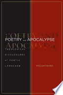 Poetry and Apocalypse