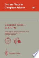 Computer Vision   ECCV  94