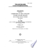 Trademark Counterfeiting