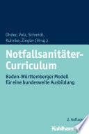 Notfallsanitäter-Curriculum