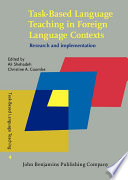 Task Based Language Teaching in Foreign Language Contexts