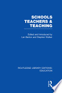Schools  Teachers and Teaching  RLE Edu N