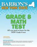 Barron s New York State Grade 8 Math Test
