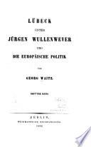 Lübeck unter Jürgen Wullenwever