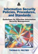 Information Security Policies Procedures And Standards