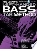 Hal Leonard Left Handed Bass Tab Method