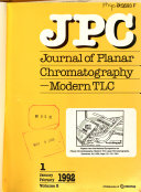 Journal of Planar Chromatography  modern TLC