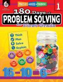 180 Days of Problem Solving for First Grade  Grade 1