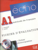 Echo A1 : méthode de français