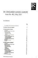 Consumer Goods Europe