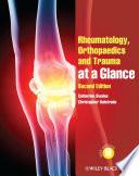 Rheumatology  Orthopaedics and Trauma at a Glance