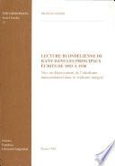 Lecture blond  lienne de Kant dans les principaux   crits de 1893    1930