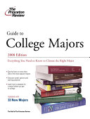Guide to College Majors 2008