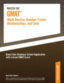 Master the GMAT  Math Review  Number Forms  Relationships  and Sets