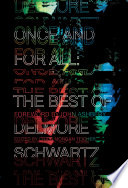 Once and for All  The Best of Delmore Schwartz