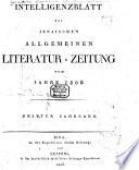 Jenaische allgemeine literatur-zeitung...