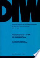 Konsumgüterversorgung in der DDR und Wechselwirkungen zum innerdeutschen Handel