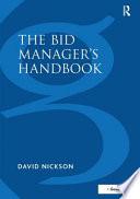 The Bid Manager's Handbook