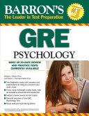 Barron's GRE Psychology