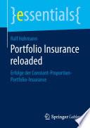 Portfolio Insurance reloaded