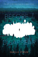 Before I Disappear Book