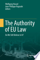 The Authority Of Eu Law