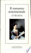 Il romanzo sentimentale  1740 1814
