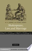 Shakespeare  Law  and Marriage
