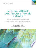 VMware VCloud Architecture Toolkit  vCAT