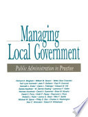 Managing Local Government
