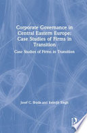 Corporate Governance in Central Eastern Europe