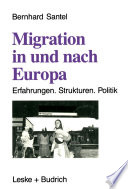 Migration in und nach Europa
