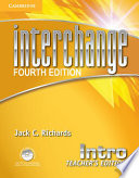 Interchange Intro Teacher s Edition with Assessment Audio CD CD ROM