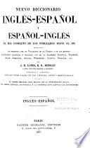 Nuevo diccionario ingl  s espa  ol y espa  ol ingl  s
