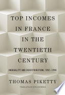 Book Top Incomes in France in the Twentieth Century