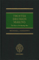 Trustee Decision Making