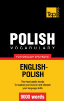 Polish vocabulary for English speakers   9000 words