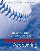 Working Papers to accompany Managerial Accounting