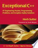 Exceptional C