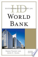 Historical Dictionary of the World Bank