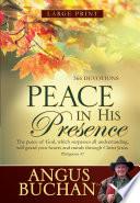 Peace in His Presence  eBook