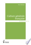 Culture générale française -