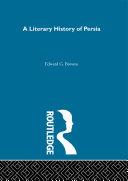download ebook a literary history of persia pdf epub