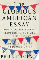 Book The Glorious American Essay