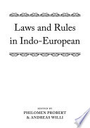 Laws and Rules in Indo European