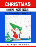 Christmas Coloring   Mazes   Puzzles