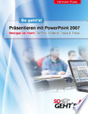 Pr  sentieren mit PowerPoint 2007