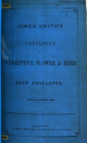 download ebook james smith's catalogue of descriptive flower and herb seed envelopes pdf epub